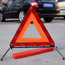 Car Truck Warning Triangle Emergency Reflector Sign Road Safety Red Plastic Part