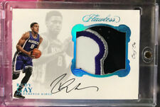 2016-17 FLAWLESS RUDY GAY JUMBO 4 COLOR PATCH AUTO CARD #1/1 ONE OF ONE KINGS