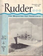 The Rudder November 1953 How To Build a Steam Box, On Rope 042117nonDBE2