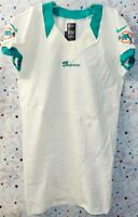 2012 MIAMI DOLPHINS NFL FOOTBALL TEAM ISSUED GREEN & WHITE SKILL JERSEY Size 44