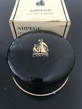 Vintage Lanvin Arpege Dusting Powder Large 9 oz