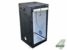 GROWBOX 4GROW BS100 - GROWZELT 100x100x200cm schwarz HOME GROW BOX PFLANZENBOX