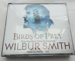Birds of Prey - Wilbur Smith audio book  4 CDs read by Martin Shaw NEW