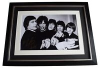Charlie Watts Signed Framed Photo Autograph 16x12 display Rolling Stones COA