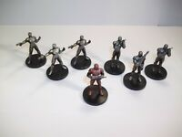 Star Wars Miniatures - Sith Lot - 7 Figures + Cards  Knights of the Old Republic