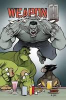 Weapon H 1 Marvel Legacy 2018 1:25 Georges Duarte Variant Hulk Wolverine