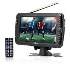 "NEW AXESS 7"" LCD TV ATSC/NTSC DIGITAL TUNER RECHARGEABLE BATTERY USB/SD READER"