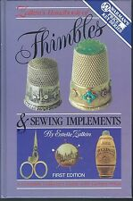 Thimbles & sewing implements guidebook estelle zalkin's handbook hc 1st ed 1988