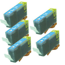 5 PHOTO CYAN Printer Ink + chip use for CLI-8PC Canon iP6600D iP6700D Pro9000