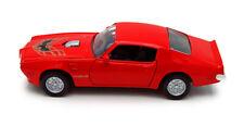1973 Pontiac Firebird Red Showcasts 73243 1/24 Scale Diecast Model Toy Car