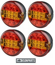 +12 / 24 VOLT UNIVERSAL LED LAMP STOP & TAIL 140x45MM 24VOLT BP95-003 X 4