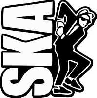 Ska 2 Tone Man Exterior Vinyl Stickers Decals The Specials The Beat 2tone x 2