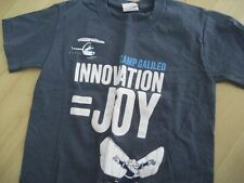 Boys S 8/10 S/S Gray Blue Shirt T Tee KNIT TOP Camp Galileo INNOVATION Joy NOVA