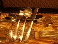 Besteck SIBEFA 40er Silber 48 teile 12 Personen mit Besteckkasten