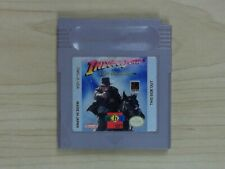Indiana Jones and the Last Crusade (Nintendo Game Boy, 1994) Game Only! Tested!