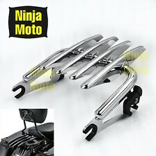 Detachable Stealth Luggage Rack For Harley Touring Road King Electra Glide 09-up