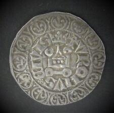 CHARLES V (1364/1380) - GROS TOURNOIS 2eme EMISSION (3/8/1369) BELLE QUALITÉ !!!