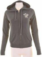 HOLLISTER Womens Hoodie Sweater Size 14 Medium Navy Blue Cotton  ER09