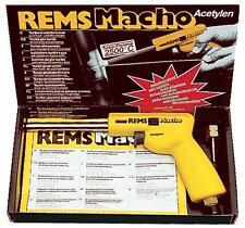 Rems Macho Lötpistole Handlötpistole für Hart- u.Weichlöten für Rohre bis 64mm