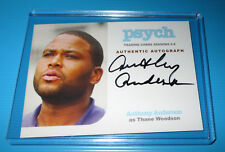 Cryptozoic - TV Show Psych Anthony Anderson Authentic Autograph Trading Card