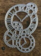 Metal Cutting Die - STEAMPUNK CLOCK Gears Cogs (A05)