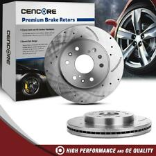 Front LH RH Side Kit Disc Brake Rotors for Chevrolet Silverado 1500 08-15