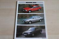87880) Mazda 323 Prospekt 02/1983