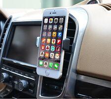 Universal Mobile Phone 360 ROTAZIONE IN AUTO Air Vent Mount Holder Base di Supporto Regno Unito