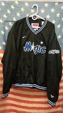 Vintage 90's Reebok NBA Orlando Magic Basketball Pullover Jacket Black Men's 2XL