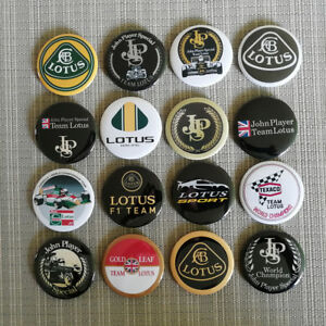 16 Lotus John Player Special F1 Team / Button / Pins / Badge / 2.25 Inch / 56 mm
