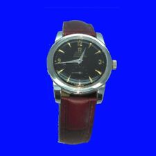 Mint Vintage Steel Omega SeaMaster Auto Bumper Gents Wrist Watch 1957