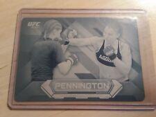 #1/1 Raquel Pennington Rare Rookie Printing Plate 2014 Topps UFC Knockout WMMA
