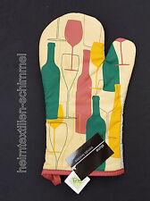 STUCO Topfhandschuh Handschuh Ofenhandschuh Küchenhandschuh VINO links Küche