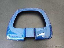 BMW rear seat backrest back cover blue R1200C 05231712 no broken tabs no cracks