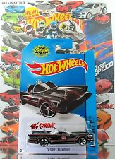 Hot Wheels 2014 #65 TV Series Batmobile BLACK,1stCOLOR,MC5,BLACK BASE,INTL