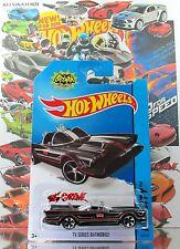Hot Wheels 2014 #65 TV Series Batmobile BLACK,1stCOLOR,MC5,BLACK BASE,INTL