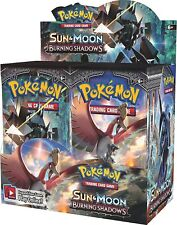 2x Pokemon BURNING SHADOWS Booster Box - Factory Sealed English Packs TWO BOXES