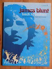 James Blunt : Back To Bedlam - Recueil de partitions chant guitare piano