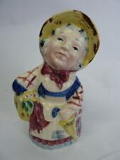 Vintage Old Lady Bud Vase Figurine Made In Occupied Japan