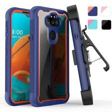 For LG Phoenix 5/Aristo 5/5+ Plus/Fortune 3 Case Cover+Stand Belt Clip Holster