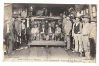 CPA SAONE ET LOIRE - Montceau les Mines - puits Maugrand - mineurs