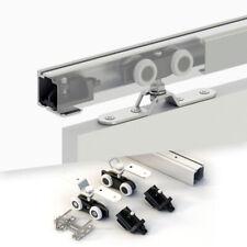 Schiebetürsystem für 1 Tür bis 120 kg Laufschiene 180 cm, Schiebetürbeschlag