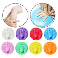 Baby Eltern-Kind Spielzeug Weicher Ton Hand Ink Pad Pad Handabdruck Fußabdruck