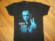 RINGO STARR CONCERT T SHIRT All Star Band 2014 Tour Tee Dates Cities Beatles SM