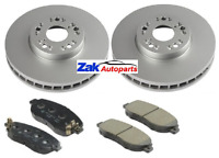 LEXUS IS200 IS300 2.0 3.0 1999-2006 FRONT 2 BRAKE DISCS AND PADS NEW SET