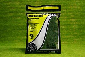 Underbrush MEDIUM GREEN Woodland Scenics FC136
