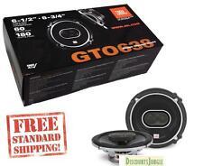 "JBL GTO638 360W 6.5""/6.75"" 3-Way Grand Touring GTO Coaxial Car Speakers infinity"