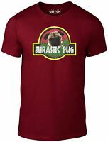 Jurassic Pug T-Shirt - Funny t shirt retro dinosaurs dog pet cute joke t rex 90s