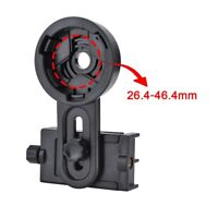 Universal Telescope Cell Phone Mount Camera Adapter for Spotting Scope Black