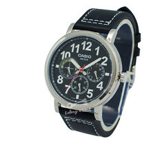 -Casio MTPE309L-1A Men's Strap Fashion Watch Brand New & 100% Authentic